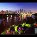 Brisbane from Kangaroo Point (experimental)