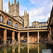 The famous Roman Baths at Bath