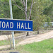 Toad Hall Sign