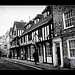 Tudor shops in the Shambles in York